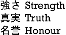 Strength Truth Honour